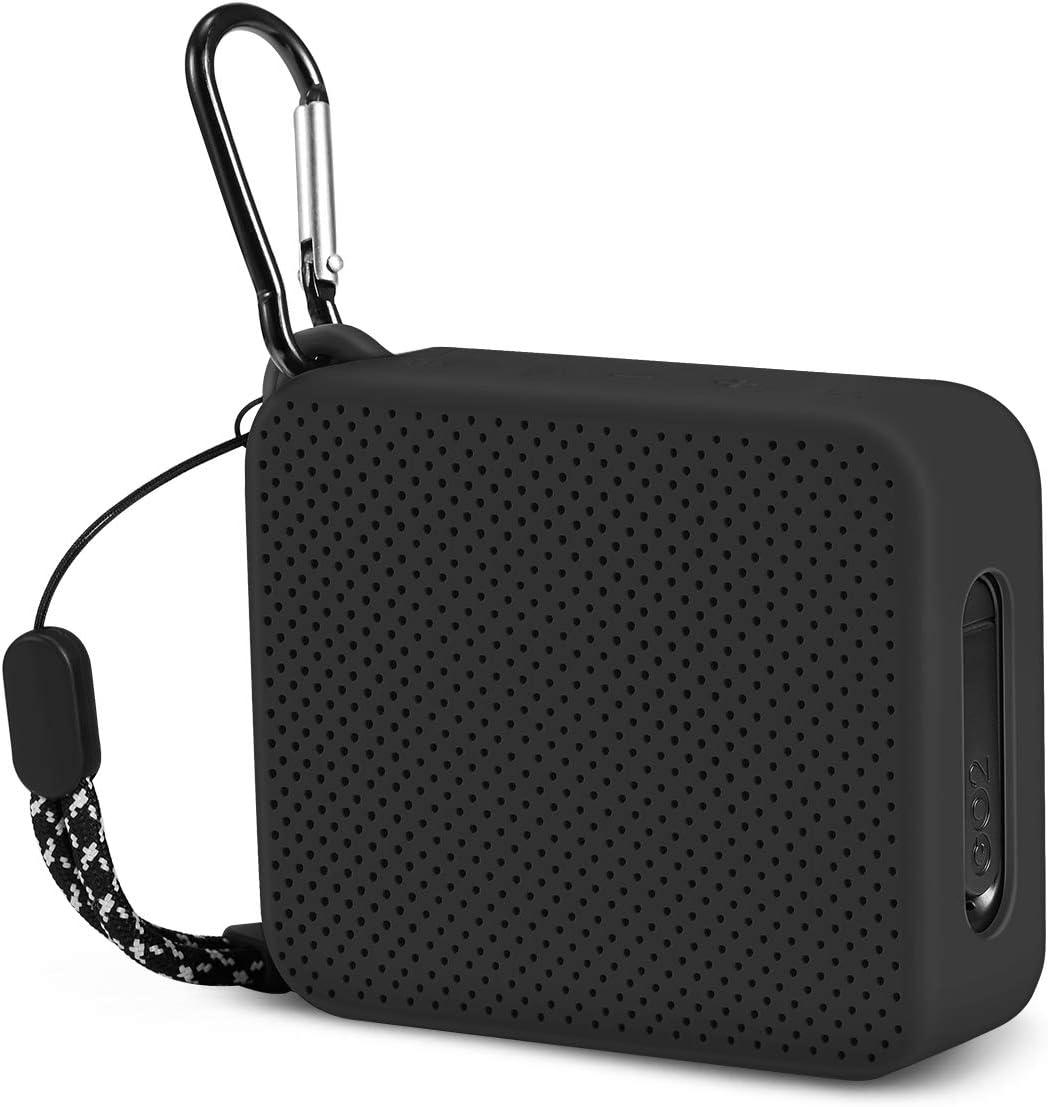 Estuche de silicona portátil para altavoz Bluetooth JBL GO2
