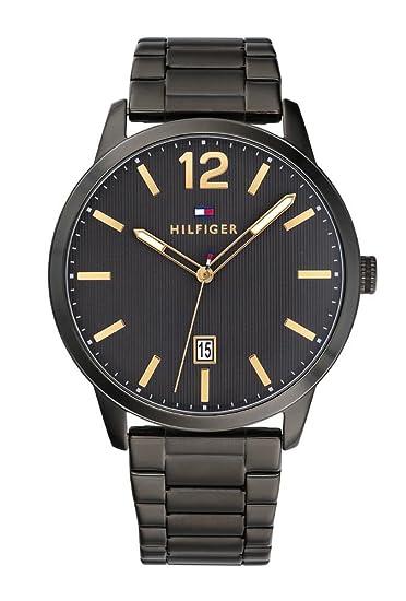 Tommy Hilfiger Reloj Analógico para Hombre de Cuarzo con Correa en Acero  Inoxidable 1791499  Amazon.es  Relojes 8714ac27604e