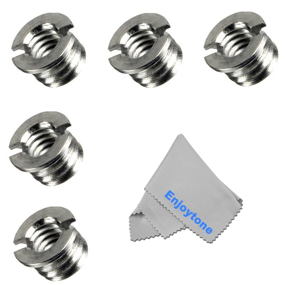Supporto a Doppia Testa a Sfera Multifunzione Slitta Standard con Vite 1//4 per DSLR,videocamer Adattatore per tiro Multiplo a Rotazione in Lega di Alluminio a 360/º con Adattatore per Slitta a Caldo