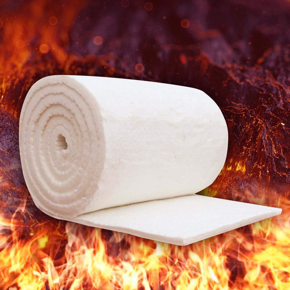 Coperta in cotone ignifugo aluminum silicato ago coperta isolante in fibra di ceramica ad alta temperatura caldaia isolamento cotone refrattaria isolamento in cotone, bianco Dream-cool