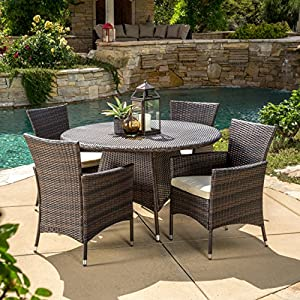 61%2BvocFItOL._SS300_ Wicker Dining Tables & Wicker Patio Dining Sets