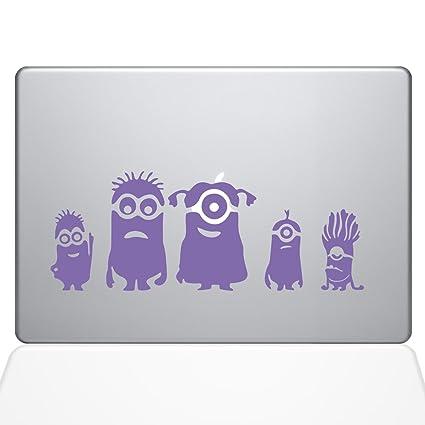 Amazoncom Minions Family Macbook Decal Purple Die Cut Vinyl