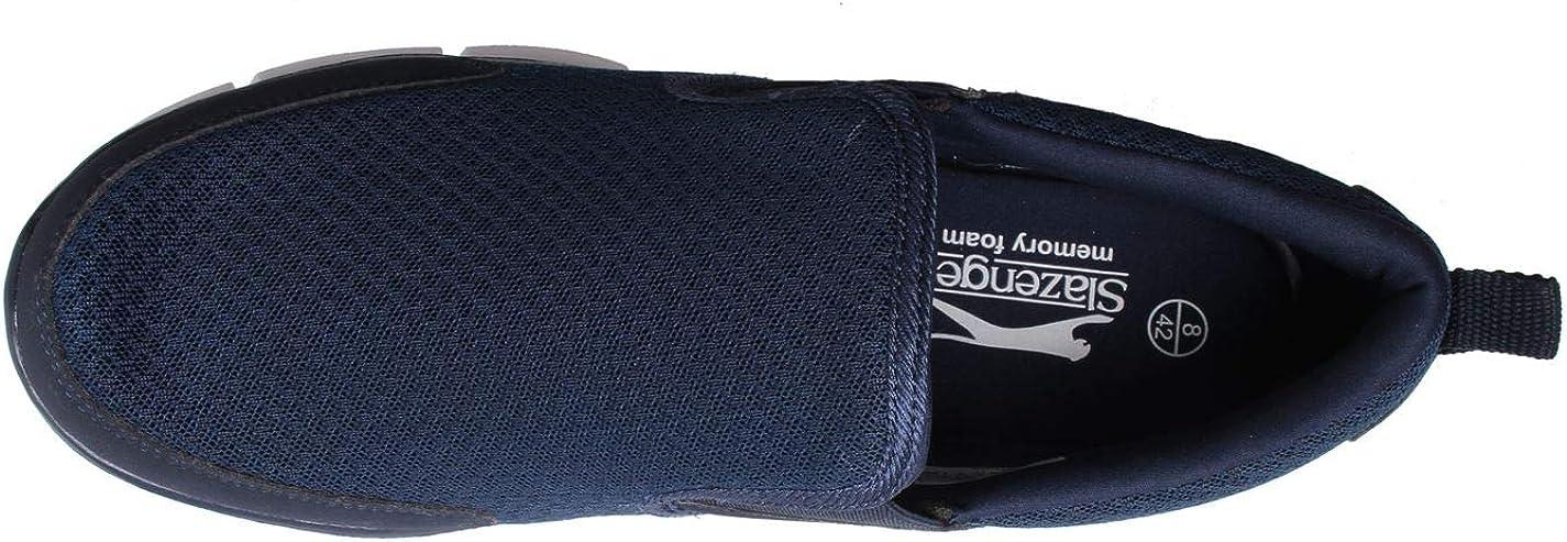 Slazenger Zeal Chaussures De Sport À Enfiler Hommes Bleu Marine