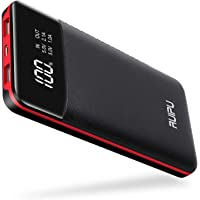 Power Bank Portable Charger 2 USB Outputs 24000mAh High Capacity Charge External Battery Pack with LCD Display, Compatible with Smart Phones,Android Phone,Tablet and More