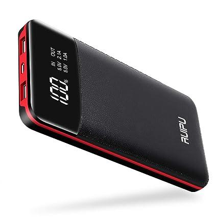Amazon.com: Power Bank Portable Charger 2 USB Outputs ...