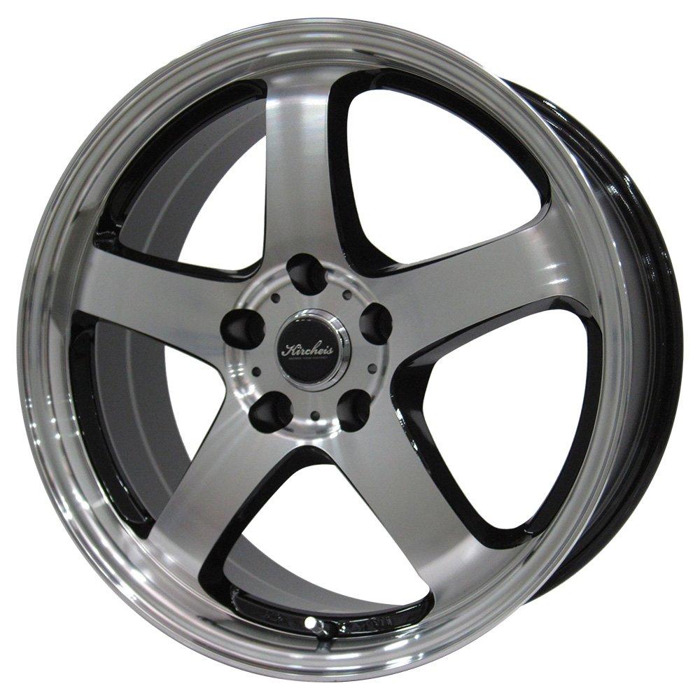 MOMO Tires(モモタイヤ) サマータイヤ&ホイール OUTRUN M-3 225/45R18 KIRCHEIS(キルヒアイス) 18インチ 4本セット B07MN2BTG3