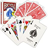 Trademark Bicycle Standard Index Playing Cards (Red)
