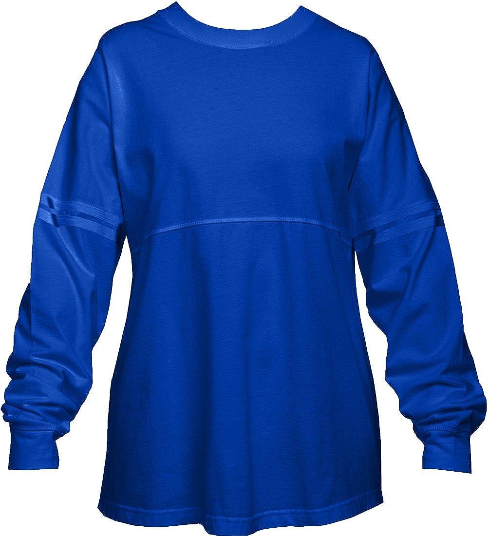 ロイヤルブルーポンポン付きプルオーバーシャツの女性 B00MPWKDRQ  XL