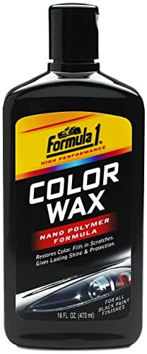 Formula 1 Black Color Wax