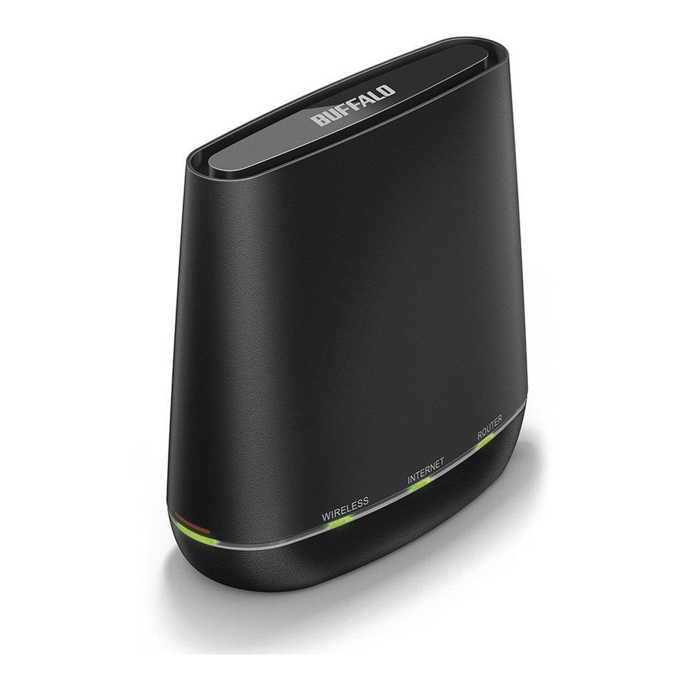 BUFFALO WiFi 無線LAN ルーター WCR-1166DS 11ac 866+300Mbps 2LDK向け 【iPhone8/iPhoneX/Echo メーカー動作確認済み】