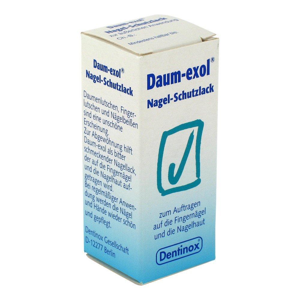 DAUM EXOL Uñas Barniz protector, 10 ml DENTINOX F10-004-02