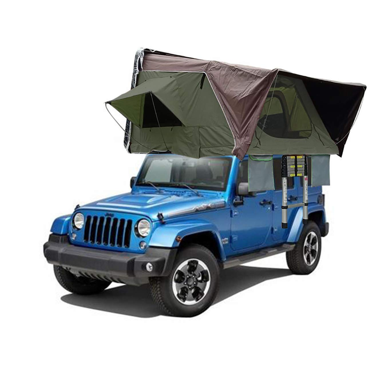 Amazon com: Procampy Rooftop Tent,Hydraulic Boost Pop Up Car