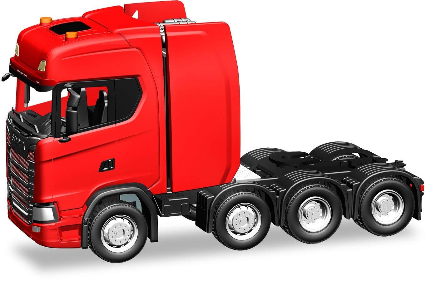 1:87 Scania CS HD Heavy Duty Rigid Tractor Red
