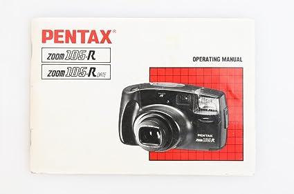 amazon com pentax zoom 105 r date camera manual everything else rh amazon com Slow Shutter Zoom Manual Slow Shutter Zoom Manual