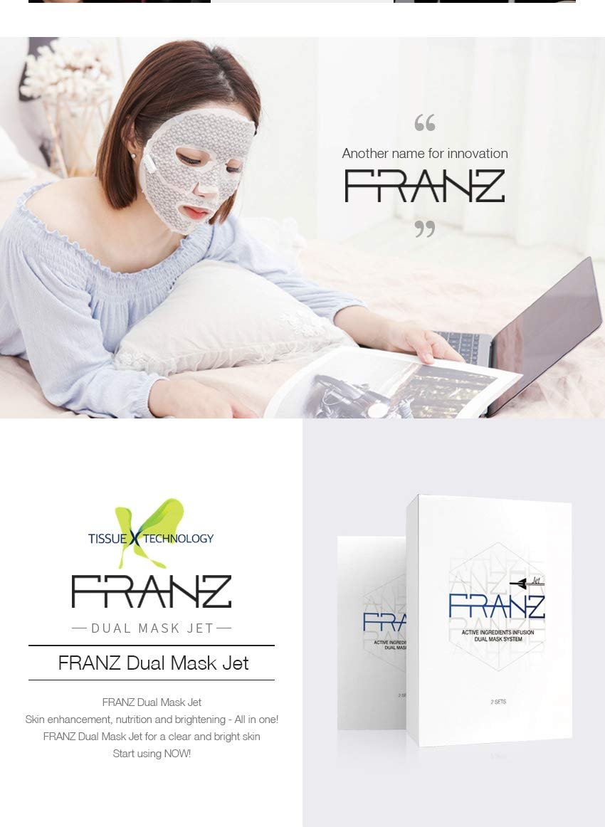 FRANZ Active Ingredients Infusion Dual Mask System (5EA)