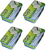 Swiffer PG-3231 Sweeper Wet Mopping Cloth Refill - Open Window Fresh - 4 Pack (24 Count)