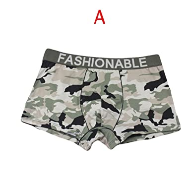 Men/'s Soft Silky Underwear Boy/'s Trucks Boxer Briefs Underpants Shorts Panties
