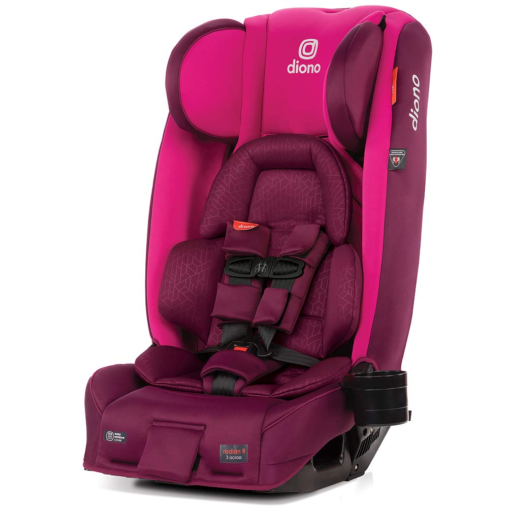 Free Shipping! Diono 2019 Radian 3 RXT Convertible Car Seat in Plum NEW