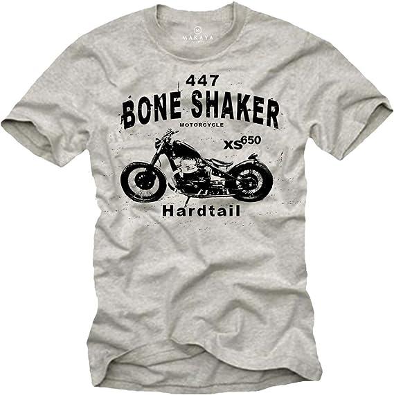 Biker T-Shirt Homme Bobber XS 650 Motard