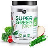 Organic Super Green Juice Superfood Powder by Touchstone Essentials, Probiotics, Antioxidants, 30 servings