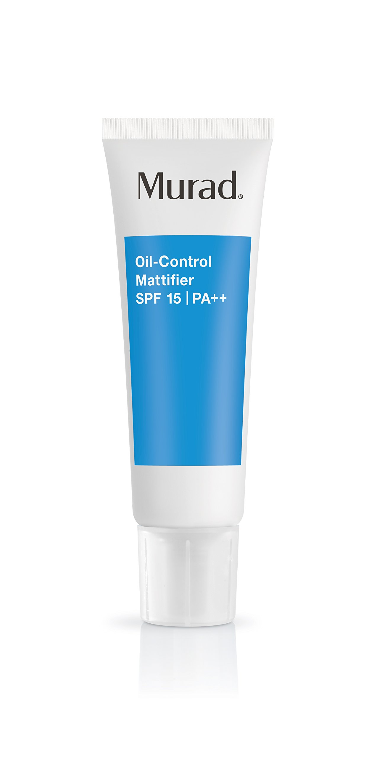 Murad Oil-Control Mattifier with SPF 15 PA++ - (1.7 fl oz), Provides a Long Lasting Matte Finish, Reduces Shine and Can Control Oil for Up To 8 Hours, Regulating Oil Production and Preserving Moisture by Murad