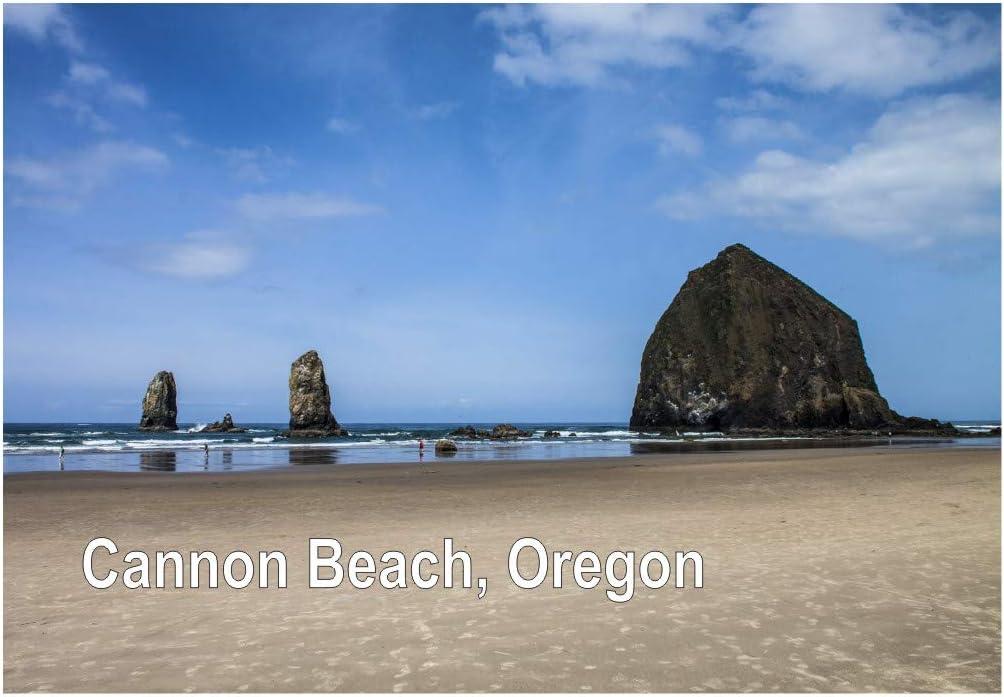 "Cannon  Beach Orecon Photo Flexible Fridge Magnet 2/""x 3/"""