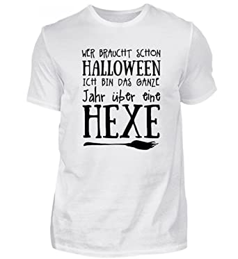 Halloween Hexenbesen Damen T-Shirt