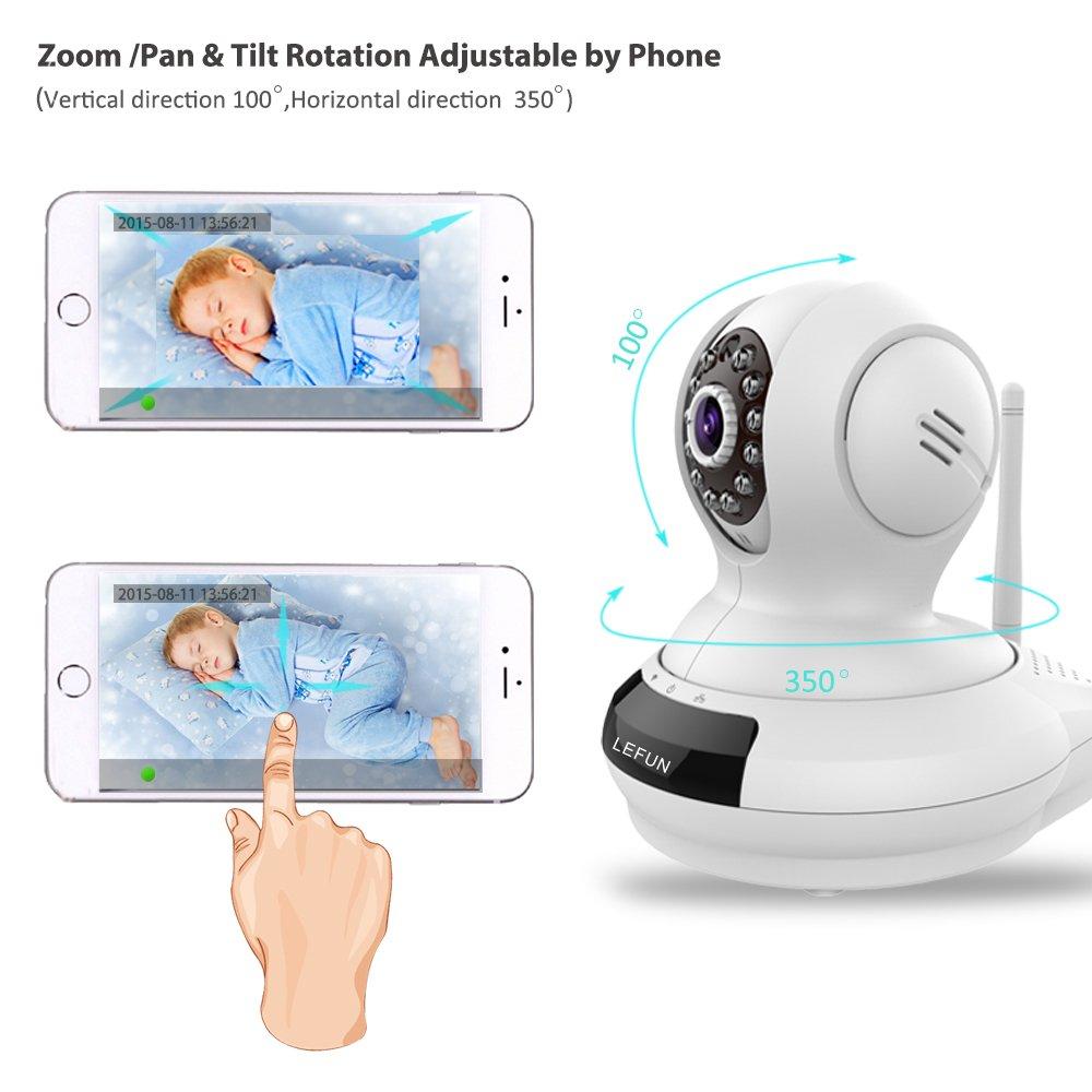 LeFun Wireless Camera, Baby Monitor WiFi IP Surveillance