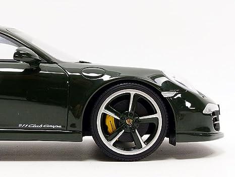 Gt Spirit - Porsche 911/991 Carrera Club Copa - 2014 - Escala 1/18, wax20140009, Verde: Amazon.es: Juguetes y juegos