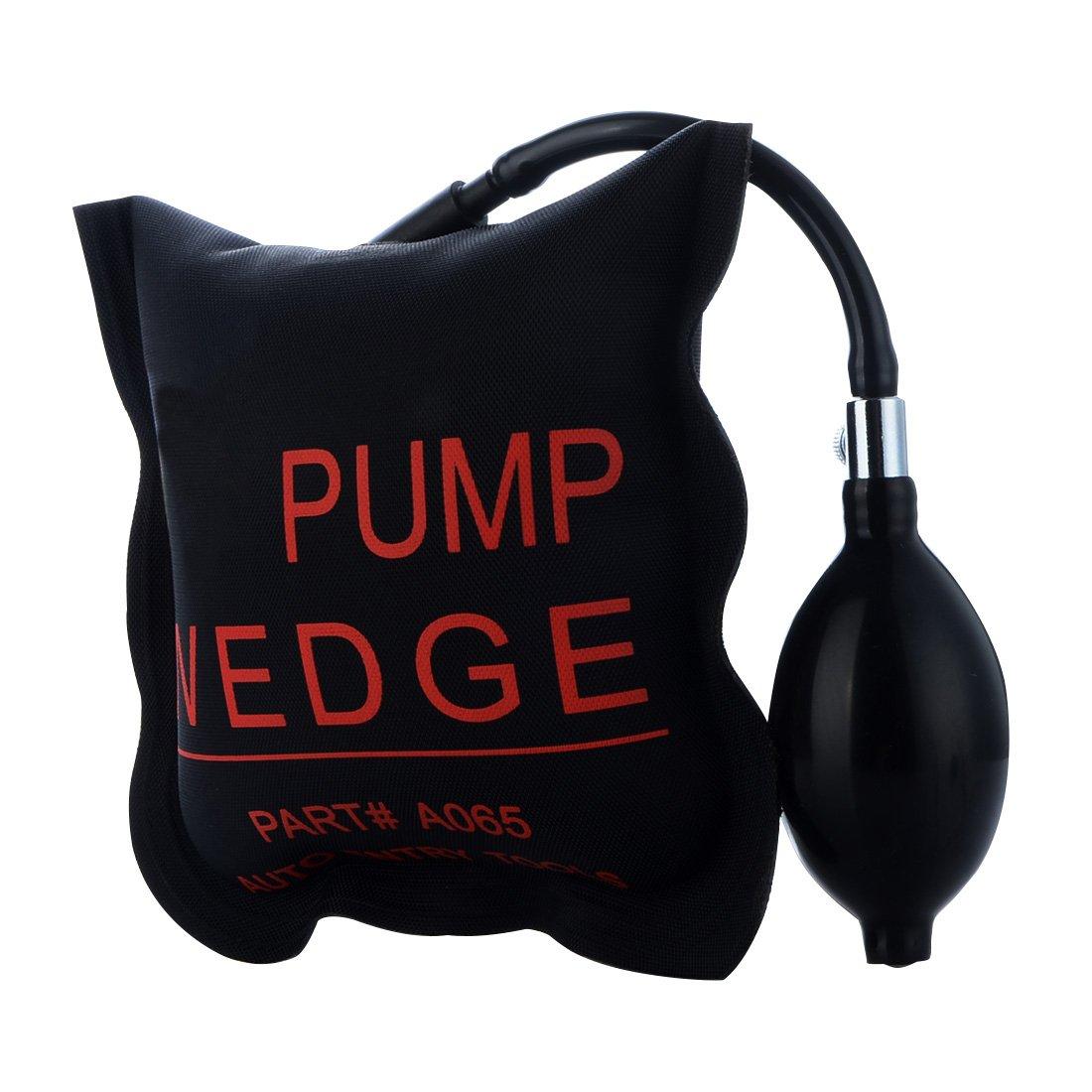 URXTRAL Herramienta de alineació n de la cuñ a del aire de la bomba Herramientas de mano potentes amortiguadas del aire de Shim inflable air wedge (2PCS)