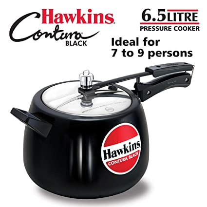 6b293d922 Image Unavailable. Image not available for. Colour  Hawkins Contura Hard  Anodised Aluminium Pressure Cooker