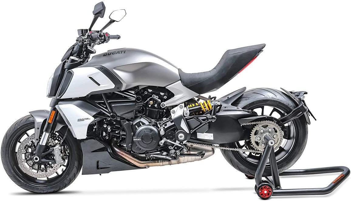 B/équille dAtelier Arri/ère pour Ducati Hypermotard 950// SP 19-20 ConStands Single One Noir