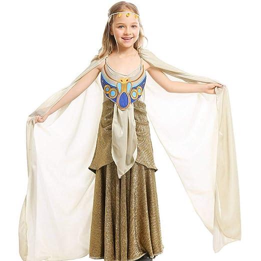 GUAN Disfraz de faraón de Halloween para niños de Falda Larga ...