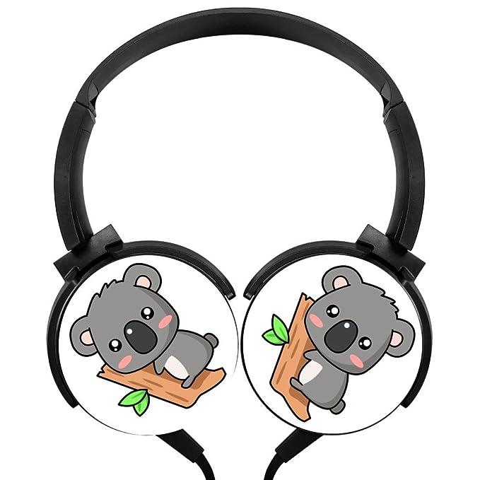 Qindocio Koala - Auriculares de diadema con cable estéreo con ...