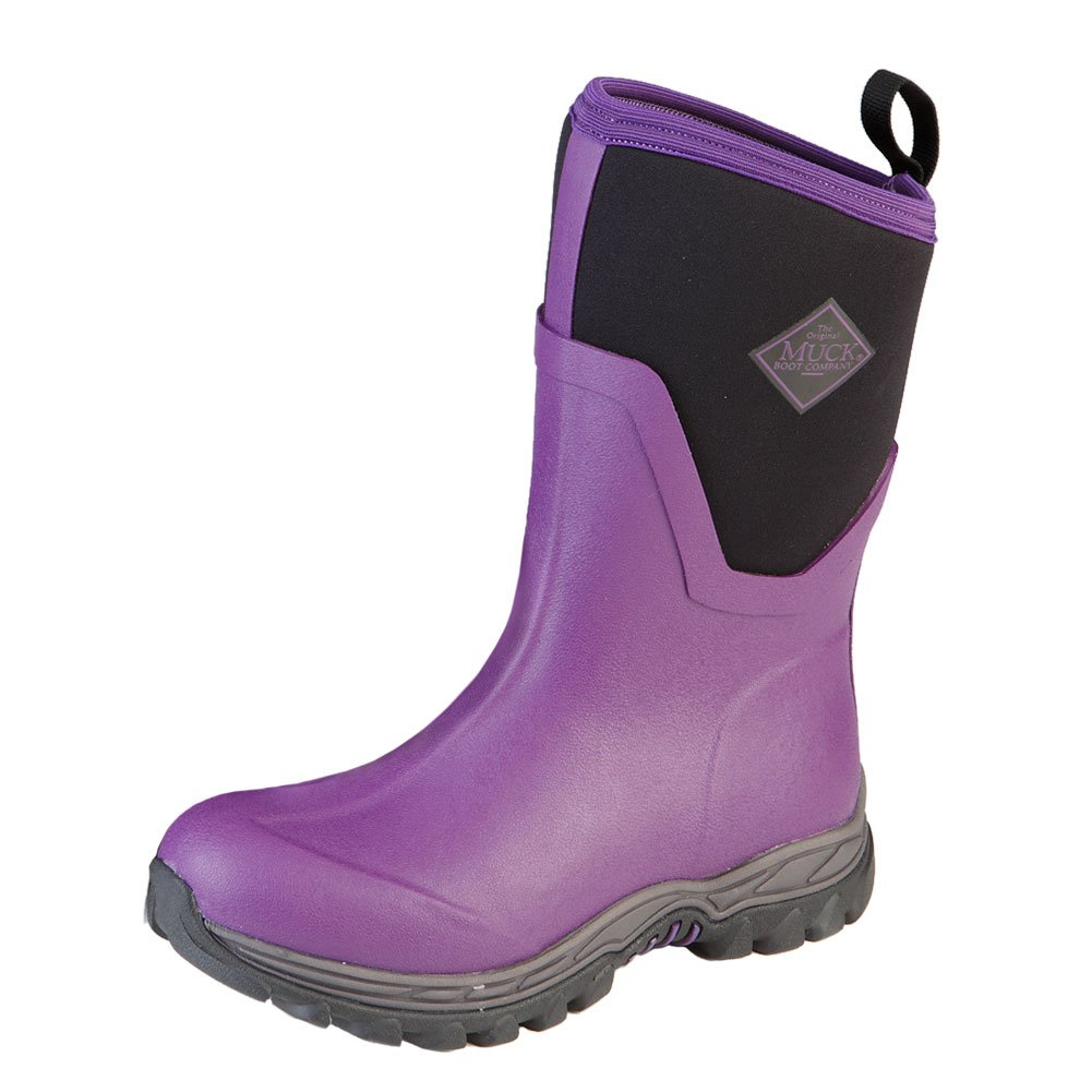 Muck Boot Company Women's Arctic Sport Ii Mid Winter Boots Socks, Purple, Size 10