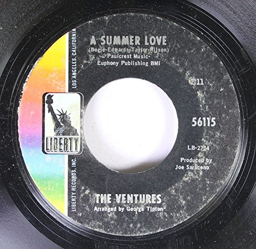 (The Ventures 45 RPM A Summer Love / Theme From 'A Summer)