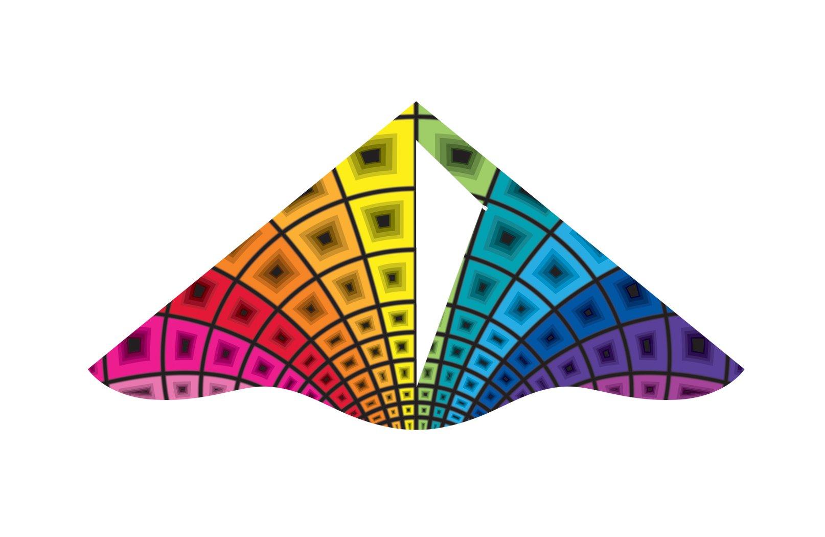 X-Kites Deluxe Delta Nylon Kite Assortment Pack (12-Pack), 42'' by X-Kites (Image #5)