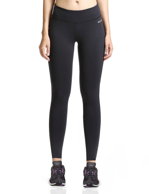 Baleaf Women's Ankle Legging Inner Pocket Non See-Through Fabric