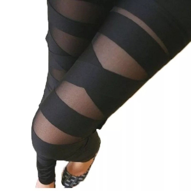 LOOBOO - Leggings - Donna