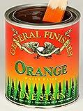 General Finishes Water Based Dye Stain Orange Quart