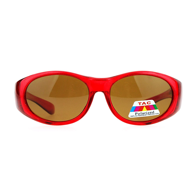 SA106 Kids Size 47mm Fit Over OTG Polarized Sunglasses kp8882pol-bk