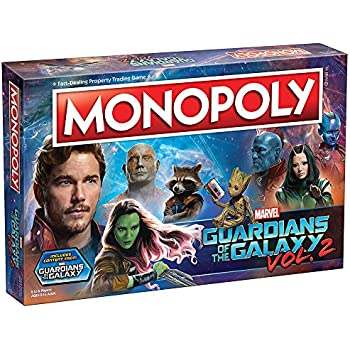 USAopoly Children's Guardians of the Galaxy Volume 2 Monopoly Game