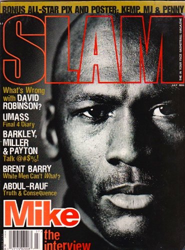 SLAM Basketball Magazine July 1996 - Mike Tyson Interview
