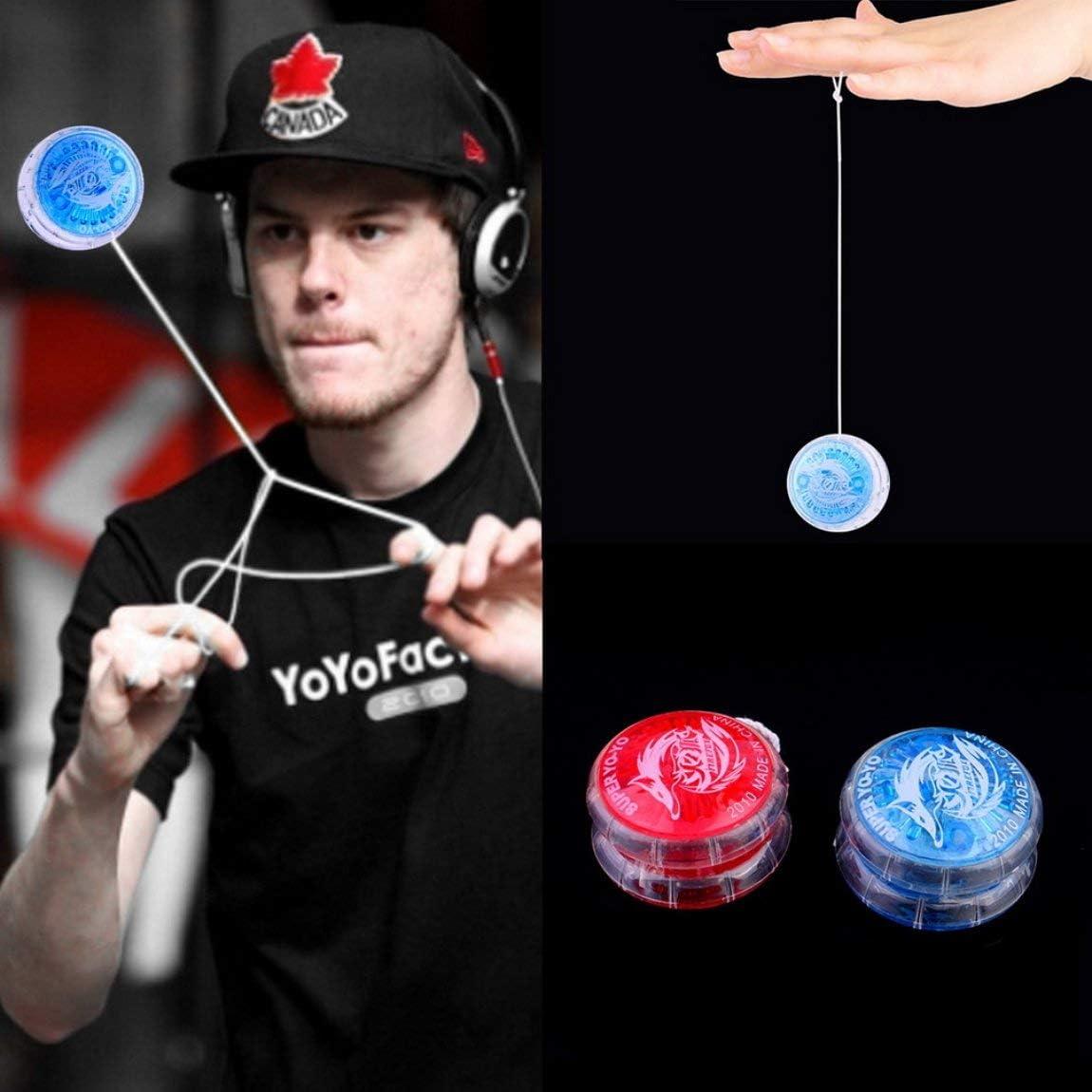 Casuale 73JohnPol Creativo in plastica per Feste Yo-Yo Ball Giocattoli Divertenti per Bambini Bambini Ragazzo Giocattoli Regalo Compatto Giocattolo Antistress Portatile