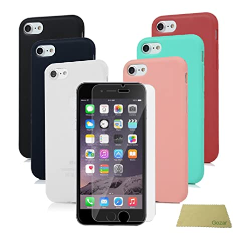 iPhone SE Funda Silicona, Carcasa iPhone 5s Ultrafina Mate ...