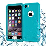 Iphone 6 case, TRANSY Anti-Scratch & Fingerprint Shock Full-body Protection Waterproof Case For iPhone 6 (4.7-inch) (blue)