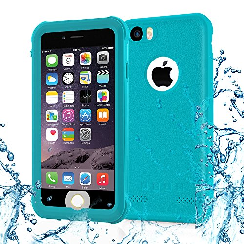 Iphone 6 case, TRANSY Anti-Scratch & Fingerprint Shock Full-body Protection Waterproof Case For iPhone 6 (4.7-inch) (blue) by Transy