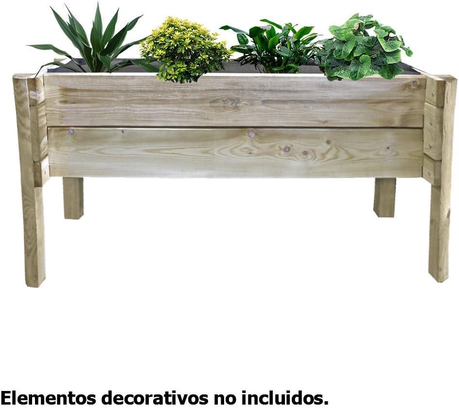 Huerto Urbano 100x40x50cm: Amazon.es: Jardín