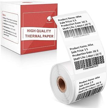 1000 etiquetas en rollo compatible con todos los transportistas etiqueta de env/ío Phomemo etiqueta t/érmica directa de 4x 6 compatible con impresora t/érmica de escritorio