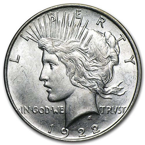 (1922 Peace Dollar $1 About Uncirculated)